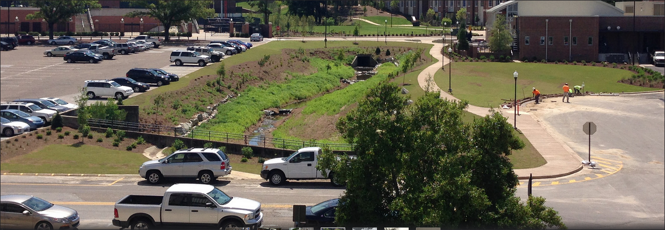 Makeover gives new look to Parkerson Mill Creek on Auburn's campus